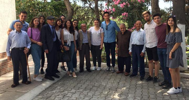 ADD Gençlerinden huzurevi ziyareti
