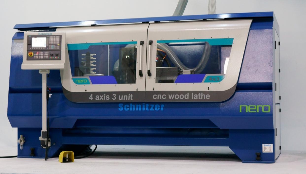 CNC Ağaç Torna – Schnitzer Makine
