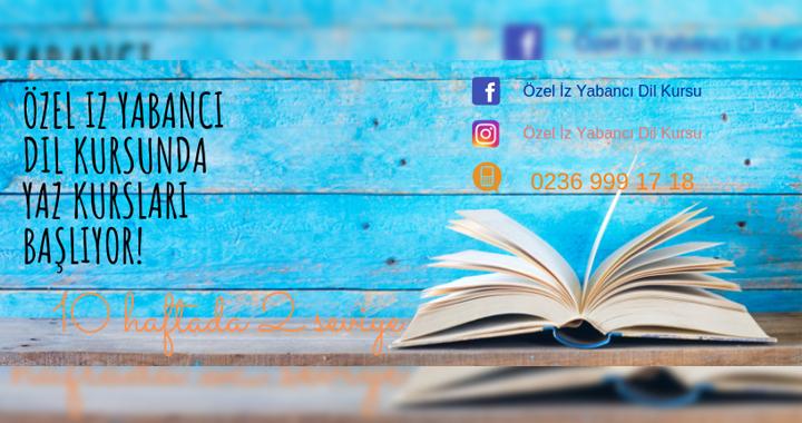 Özel İz Yabancı Dil Kursu yaz kursları