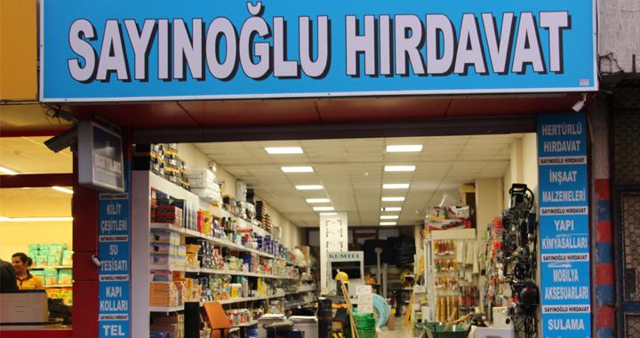 Sayınoğlu Hırdavat'ta indirimler devam ediyor