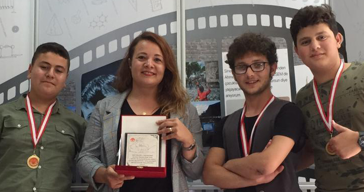 Kayhan Ergun MTAL, ulusal kısa film yarışmasında Türkiye üçüncülüğü elde etti