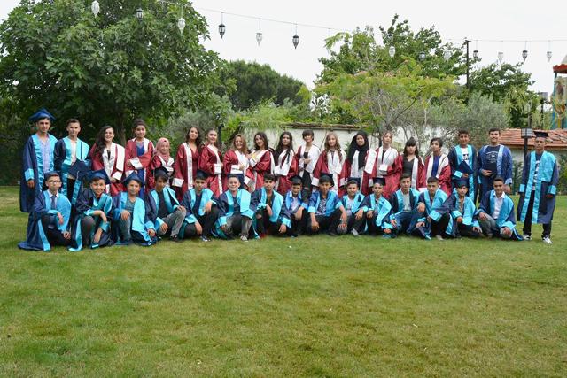 Şehit Ali Aksoy Ortaokulu mezuniyet eğlencesi