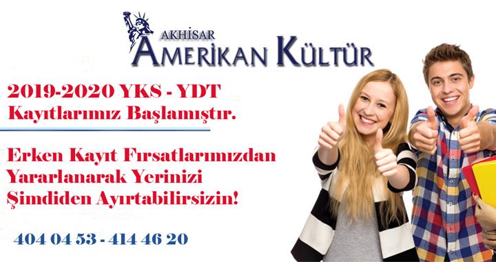 Dil alanında sınava girecek öğrenciler, Amerikan Kültür yeni adresiniz