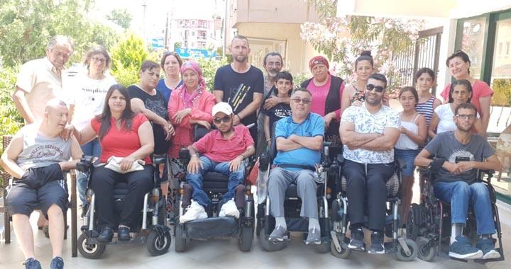 Akhisar Kent Konseyi Engelliler Meclisi tatil projesi devam ediyor
