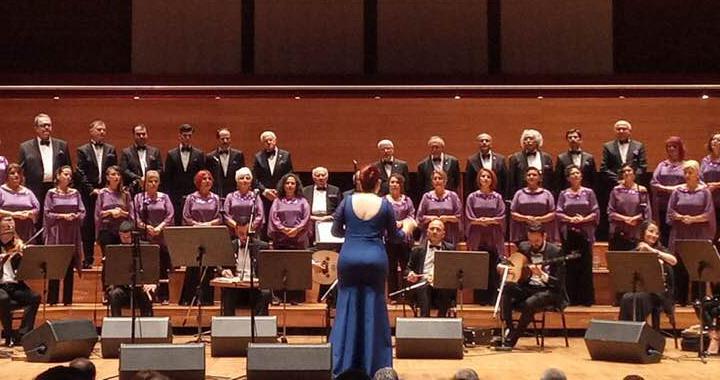 ASDER, İzmir Adliyesi Korosu konserine katıldı