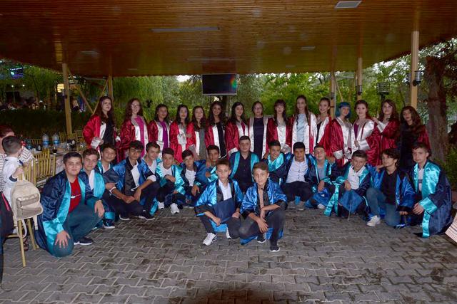 Ticaret Odası Ortaokulu 8. sınıflar mezuniyeti kutlandı