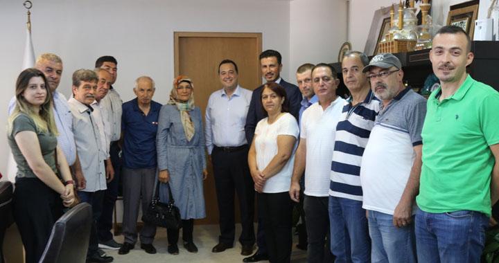 İyi Parti'den Belediye Başkanı Dutlulu'ya ziyaret