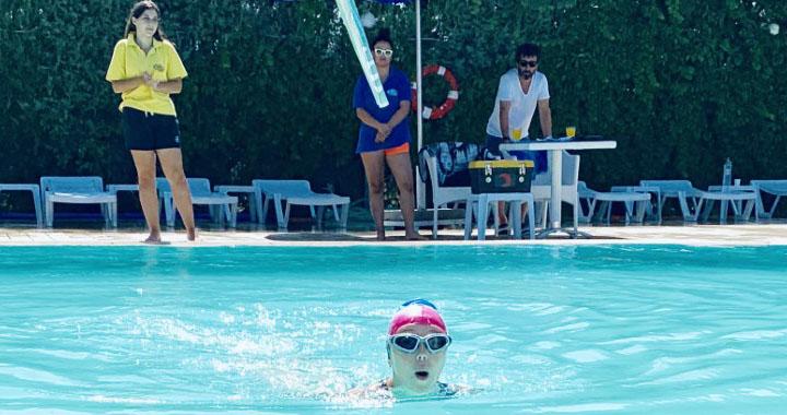 Ege Yüzme Akademide ilk tur yapılan yüzme sınavınla tamamlandı