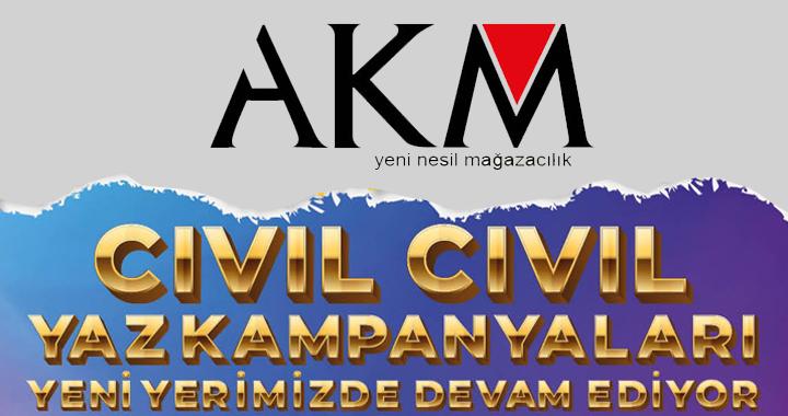 AKM'de cıvıl cıvıl yaz kampanyaları devam ediyor