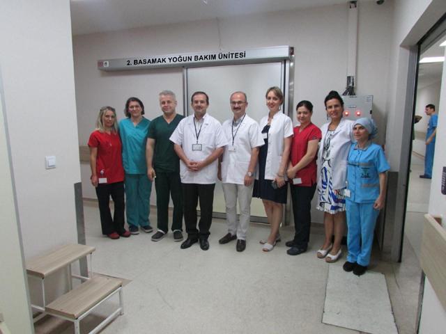 Devlet Hastanesine ilave yoğun bakım ünitesi