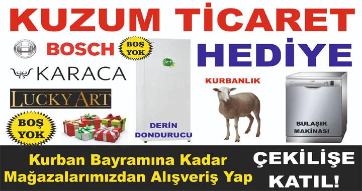 Kuzum Ticaret'te bayram kampanyası