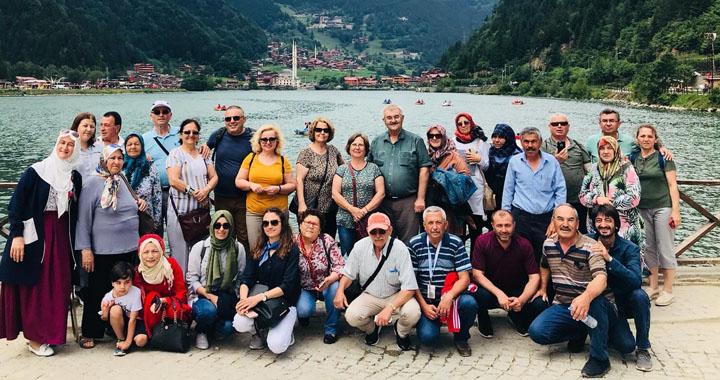 Özdemirler Turizm, büyük Karadeniz turundan döndü