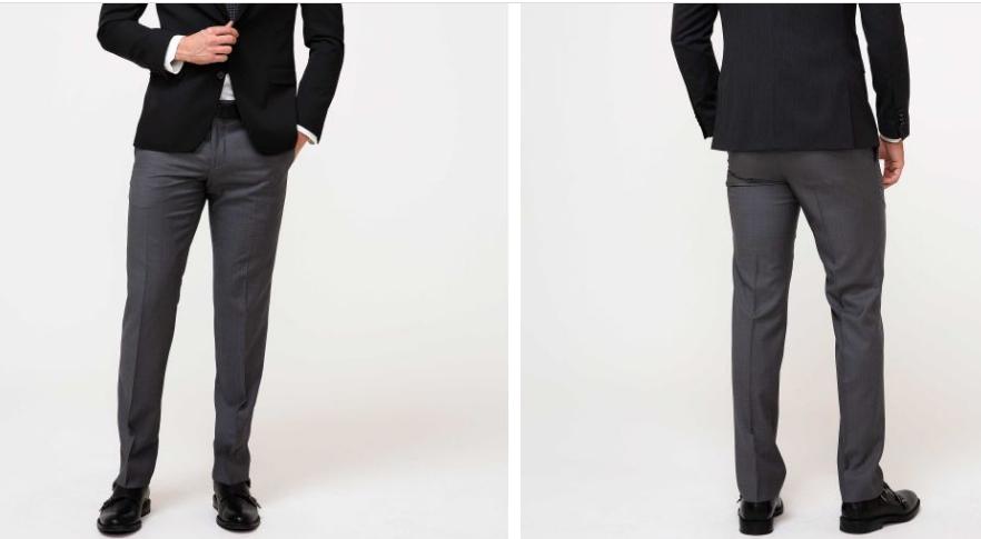 Erkek Kumaş Pantolon Dar Kesim
