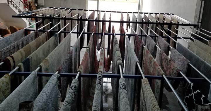 Moşe halı yıkama fabrikası hizmete açıldı