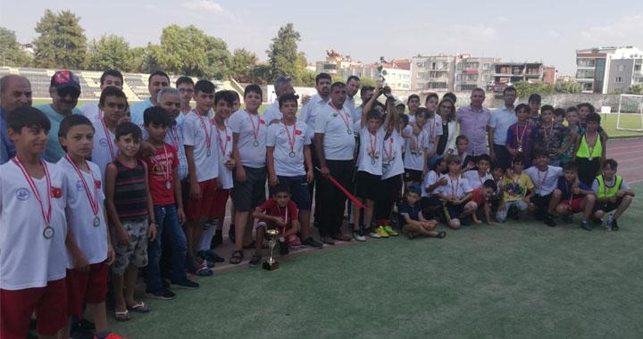 15 Temmuz Kur'an kursları arası futbol turnuvası şampiyonu Şeyh İsa Cami oldu