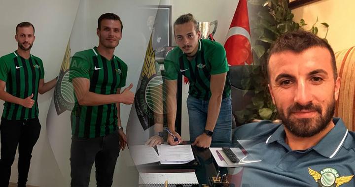 Akhisarspor'da 4 imza birden!