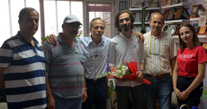 İyi Parti ilçe teşkilatı basın bayramını kutladı