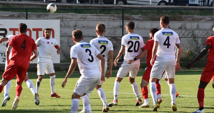 Akhisarspor, özel maçta Gençlerbirliği'ne 3-2 yenildi