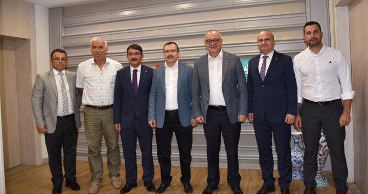 Başkan Ergün, Milletvekili Aydemir'i Ağırladı