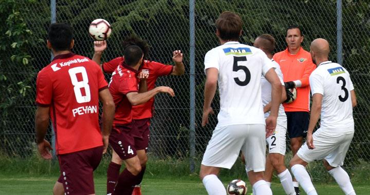 Üçüncü hazırlık maçında gol sesi çıkmadı