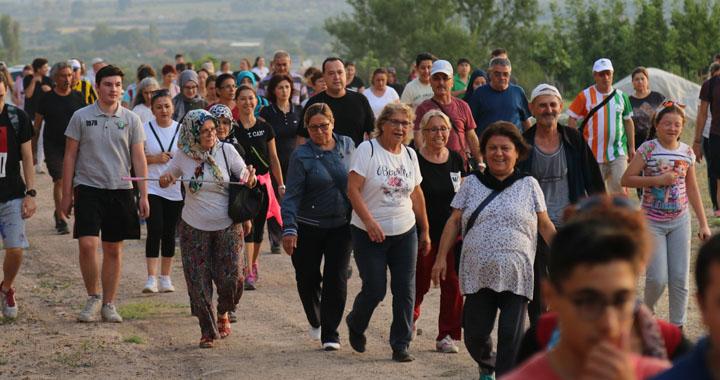 Başkan Dutlulu, sağlıklı yaşam için doğa yürüyüşlerine katıldı