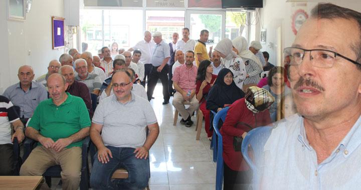 AK Parti ilçe teşkilatında bayramlaşma programı düzenlendi