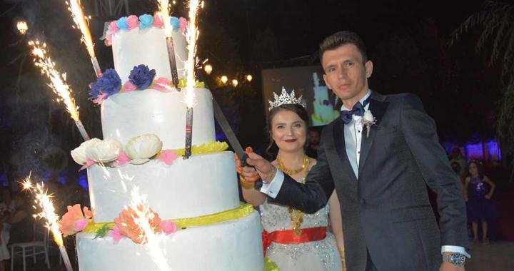 Nihal ve Sait mutluluğa evet dedi