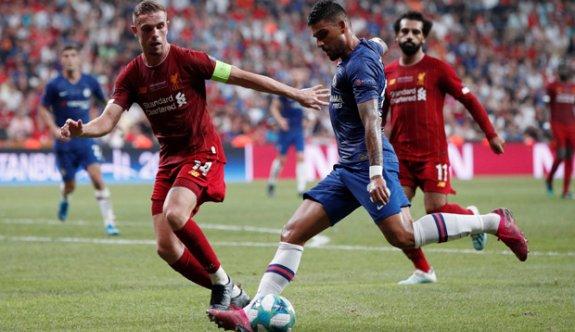 Heyecan verici final sonuçlandı. Kupanın sahibi Liverpool oldu