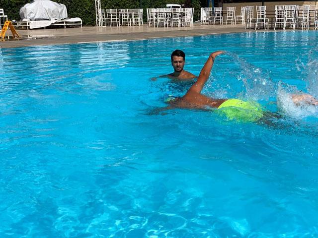 Ege Yüzme Akademide son tur yapılan yüzme sınavıyla tamamlandı