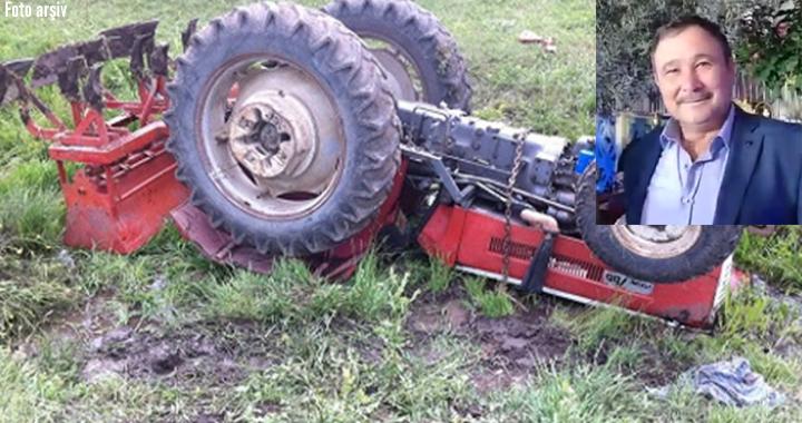 Gölmarmara'da traktör kazası 1 ölü