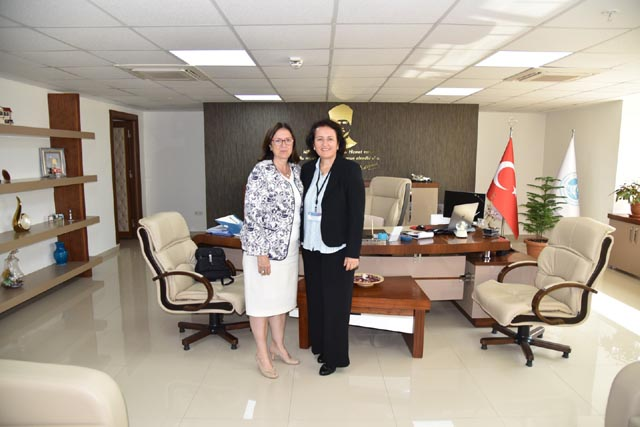 Genel Müdür Başaran'a Akhisar'dan ziyaret