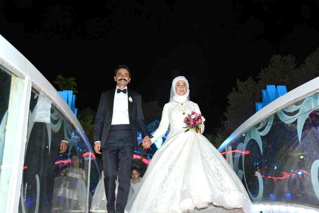 Merve ve Muhammed Sait mutluluğa evet dedi