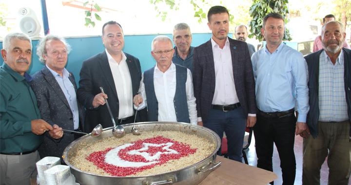Erzurumlular Derneği, geleneksel aşure hayrı bu yıl da devam etti