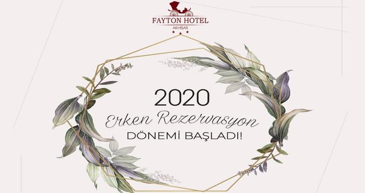 Fayton Hotel'de erken rezervasyon dönemi başladı