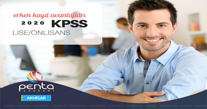 Penta'da Lise/ Ön Lisans KPSS için ekstra indirim