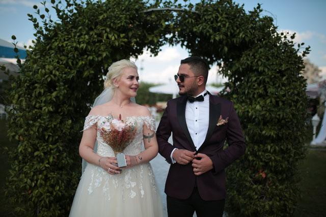 Merve ile Mehmet'in mutlu anları