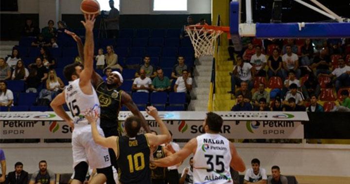 TBL 1. Lig: Petkimspor: 75 - Akhisar Belediye: 72