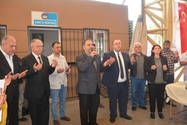 """Pazarcılar Odası """"Barış Pınarı Harekatı"""" için pilav hayrı düzenledi"""