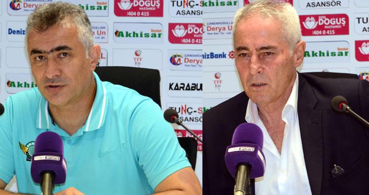 Akhisarspor, Eskişehirspor maçı ardından