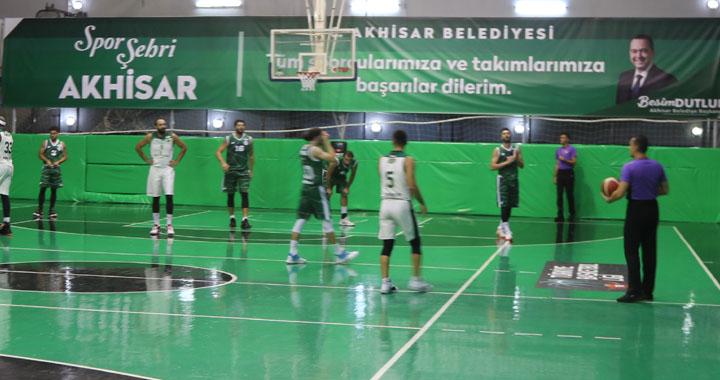 Akhisar Belediye Basket'ten Konya'ya 17 fark