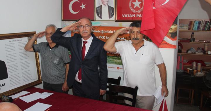 Akhisar Vatan Partisi olağan kurultayı yapıldı
