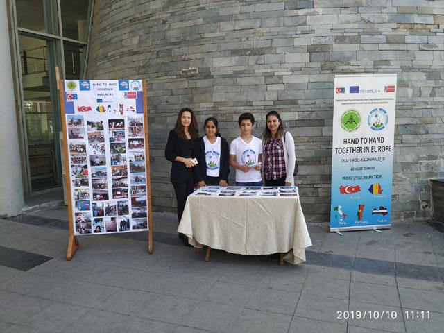 Şehit Ali Aksoy Ortaokulunda Erasmusdays günleri