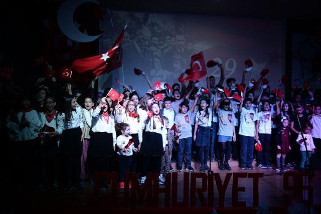 29 Ekim Cumhuriyet Bayramının 96. Yılı Bahçeşehir Koleji'nde coşkuyla kutlandı!