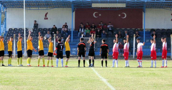Süleymanlı-Kayalıoğlu maçı yarım kaldı