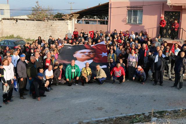 Zinde Yaşam Kulübü bu hafta Atatürk için yürüdü