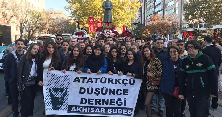 ADD Gençleri 10 Kasım'da Ankara'da
