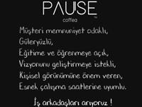 Pause Coffea'ya iş arkadaşları aranıyor