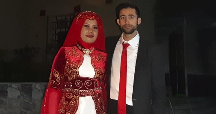 Akhisar'da kıtalar arası mutluluk yaşandı
