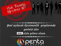 Penta KPSS Kursunda Öğretmen adaylarına yüzde 10 indirim