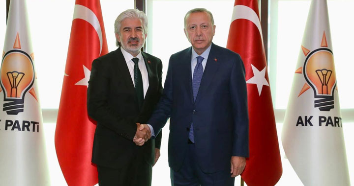 AK Parti Manisa resmen Hızlı'ya emanet